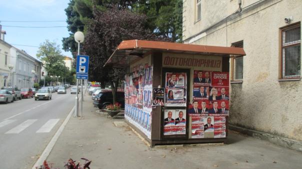 Stranke su dužne da uklone svoje plakate