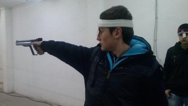 Srđan Glavonjić kadetski šampion RS u gađanju vazdušnim pištoljem
