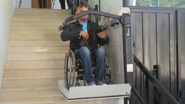 Lift za invalide u Kulturnom centru