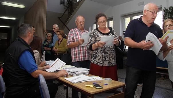 Iz izbornih štabova: Glasanjem Trebinjaca zadovoljni samo SNSD i SDS