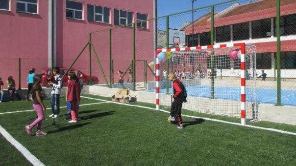 Otvoreni fudbalski tereni za djecu sa posebnim potrebama