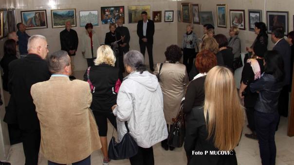 """Izložba """"Slikarski uranak u blagu Crne Gore – Crna Gora u očima umjetnika"""""""