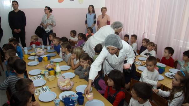 """Svjetski dan hrane obilježen u vrtiću """"Naša radost"""""""