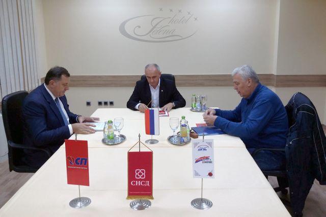 SNSD, DNS i SP će formirati vlast u Srpskoj