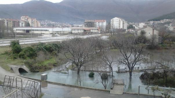 Obilne padavine u Trebinju i Bileći