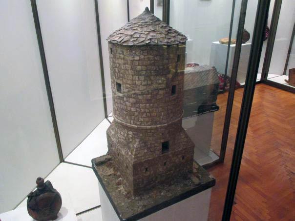 Maketa rekonstrukcije Kule Brankovića (Muzej Hercegovine)