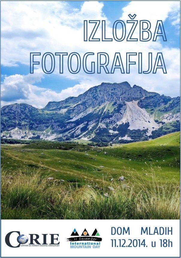 Najava: Međunarodna izložba fotografija povodom dana planina