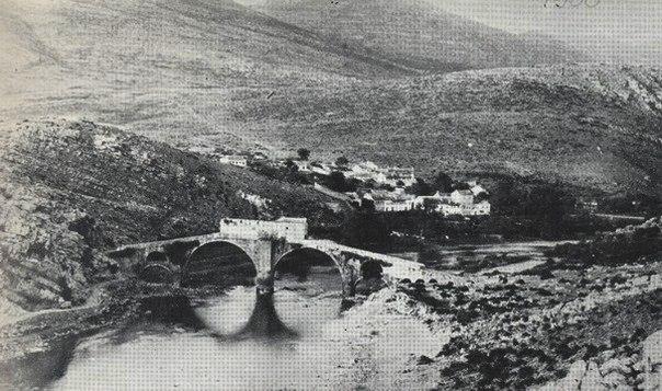 most na starim fotografijama