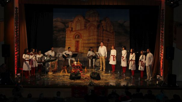 """Etno grupa """"Zahumlje"""" oduševila trebinjsku publiku (FOTO)"""