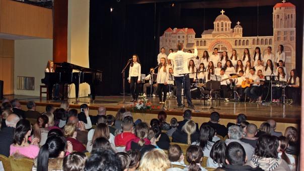 Školska priredba u slavu Svetog Save (FOTO)