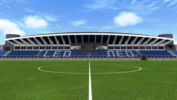 Detaljan plan rekonstrukcije stadiona Police (Foto)