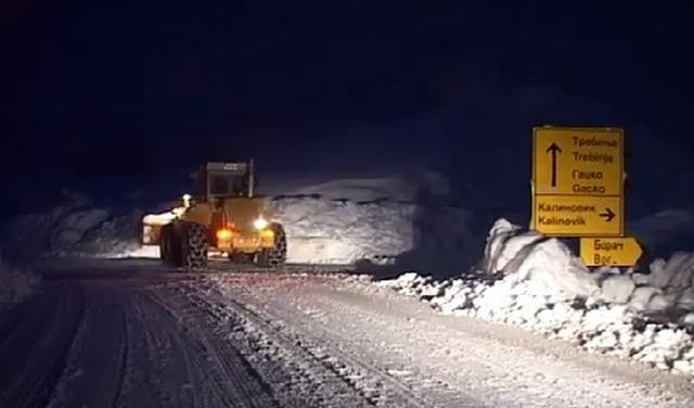 Vozači oprez! Zimski uslovi na putevima u Hercegovini