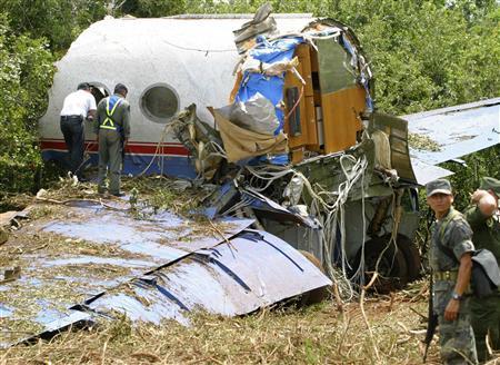 Srušio se avion sa tonom kokaina