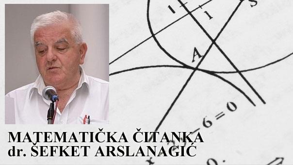 """Knjiga za talente : """"Matematička čitanka 7"""" prof. dr Šefketa Arslanagića"""