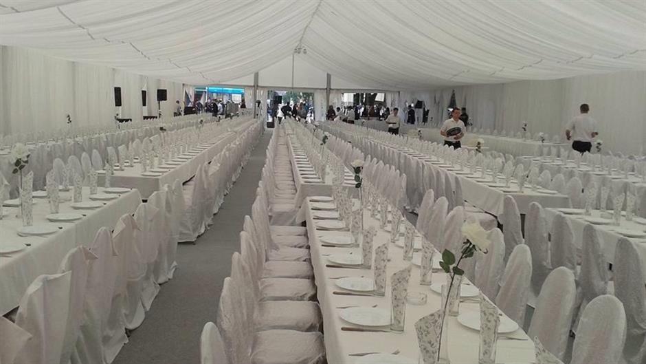 Pod luksuznim bijelim šatorom obilježena godišnjica od poplava