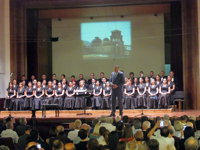 Donatorski skup u Beogradu za obnovu hrama u Prebilovcima