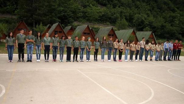 Otvoren izviđački kamp u Lastvi