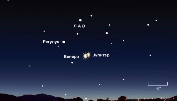 Venera-Jupiter konjukcija 300615