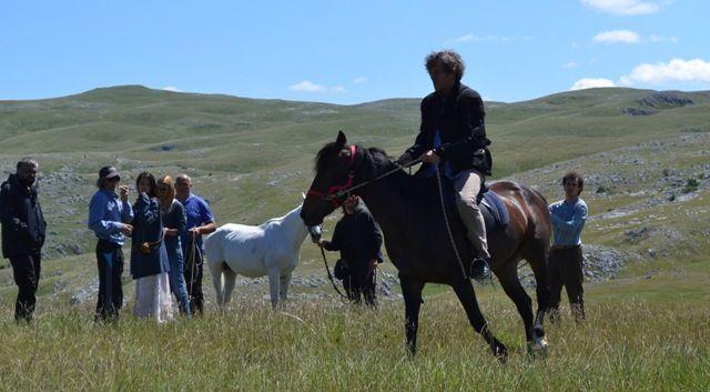 Кустурица пао с коња