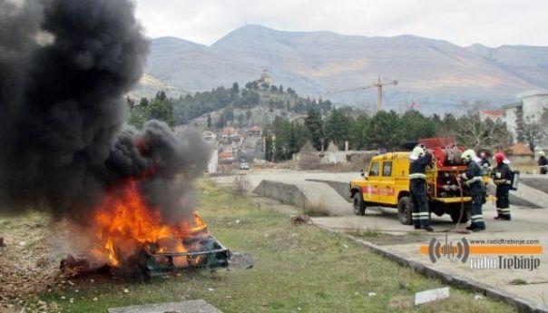 Почела обука волонтера цивилне заштите за гашење пожара на отвореном
