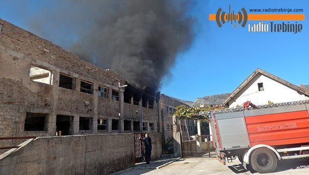 Пожар у старој згради Новотекса