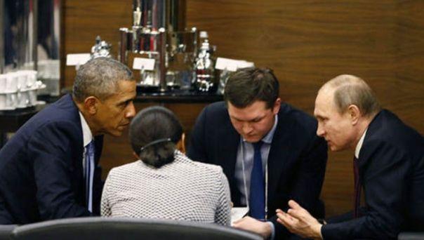 Париз: Састанак Путина и Обаме иза затворених врата