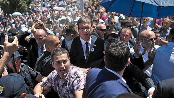 APTOPIX Bosnia Srebrenica Anniversary