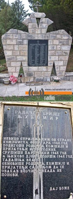 radacki brijeg spomenik