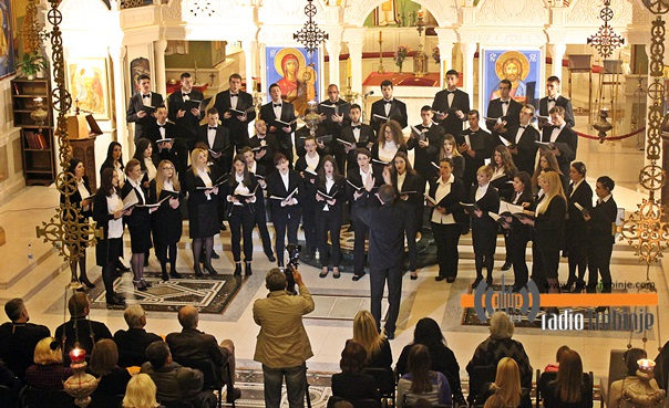 Концерт хора студената из Источног Сарајева