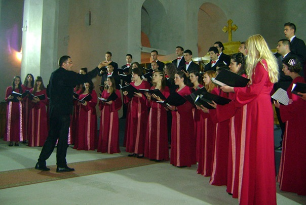 Концерт у саборном храму