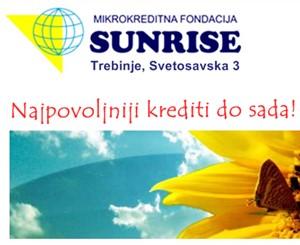 """Mikrokreditna fondacija """"Sunrise"""""""