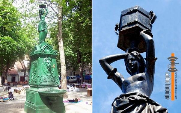 Женска скулптура као симбол водовода: Бабићевој чесми фали ведро за воду?