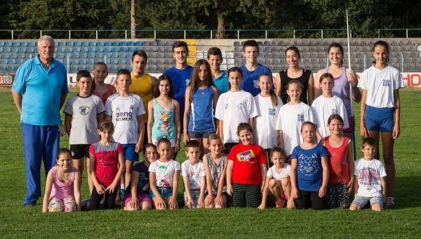 """11 титула државних првака за атлетичаре """"Леотара"""""""