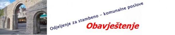 Odjeljenje za stambeno-komunalne poslove Grada Trebinja