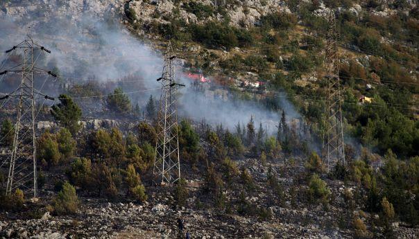 Угашен пожар у Гучини