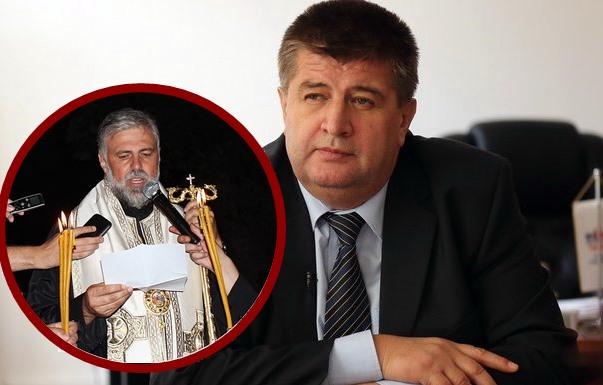 Vučurević: Mikrofon nije radio zbog tehničkih problema, a i vladika se obratio mimo protokola