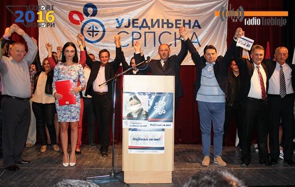 Уједињена Српска: Требиње вратити себи и Републици Српској