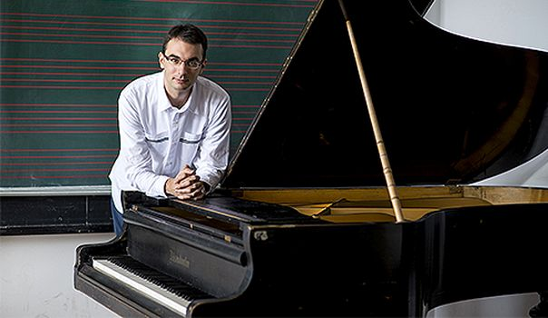 Marko Kovac, kompozitor, 14.09.2016. foto Marko Rupena