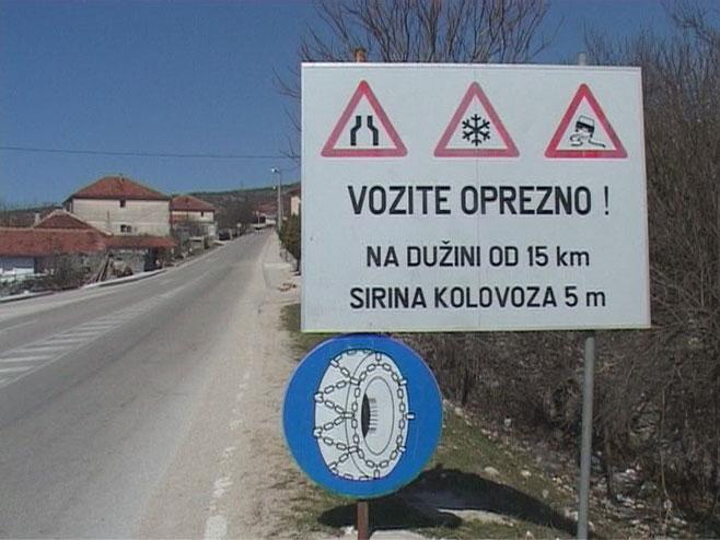 Након 40 година реконструкција пута Љубиње-Столац
