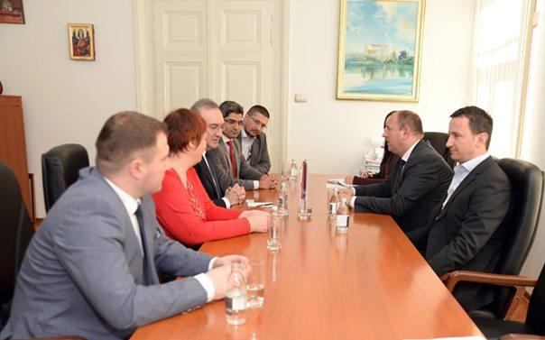 Градоначелник Петровић са амбасадором Турске