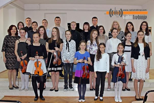 Концерт награђених ученика Музичке школе