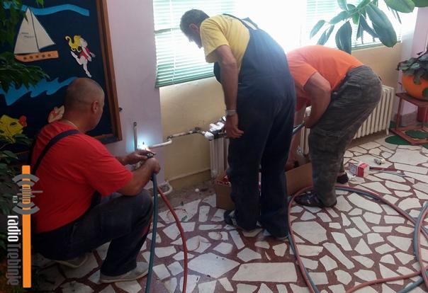Реконструисан систем гријања у вртићу у Бреговима