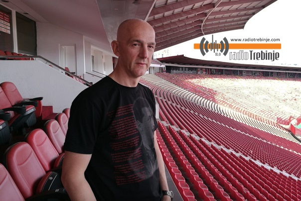 Trebinjac Branislav Rupar: PET DECENIJA VJERAN ZVEZDI
