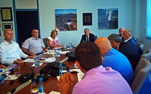 Састанак управа ЕРС-а и РиТЕ Гацко: Приоритети добра погонска спремност и остварење производног плана