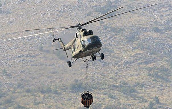 Активно више пожара: Ангажовани и хеликоптери