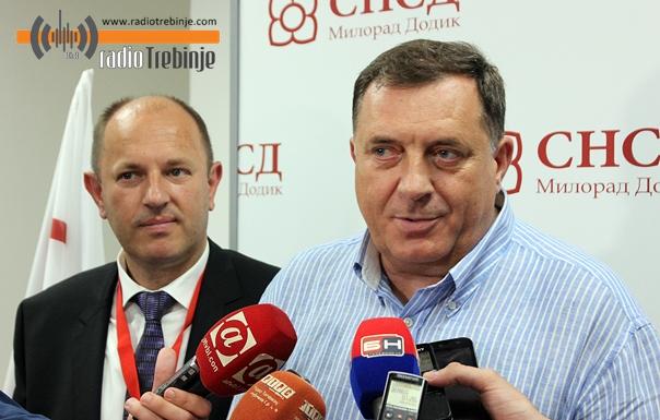 Лука Петровић остаје на челу требињског СНСД-а