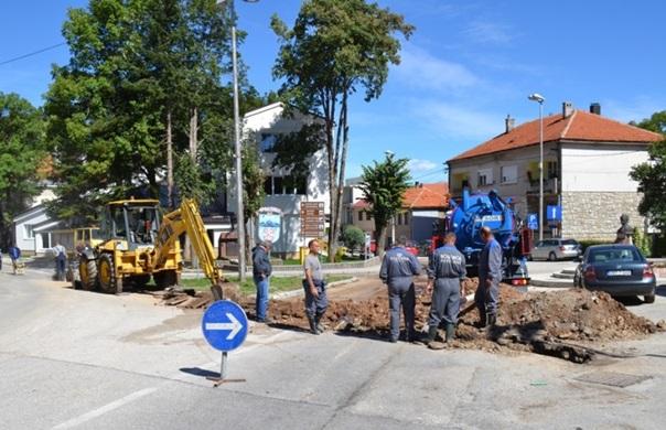 Почела реконструкција водоводне мреже и кружног тока