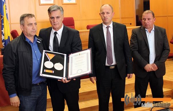 Uručena odlikovanja za 11 poginulih boraca iz Hercegovine