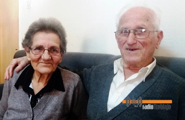 Љубица и Данило Гобовић: 60 ГОДИНА БРАЧНЕ СРЕЋЕ