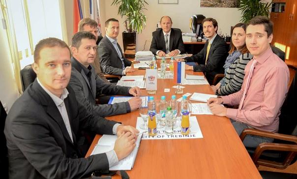 Делегација ЕУ у БиХ у посјети градоначелнику Петровићу